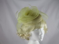 J.Bees Millinery Lemon Headpiece